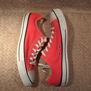 CONVERSE All Star Chuck Taylor Lo Neon Sneakers 12